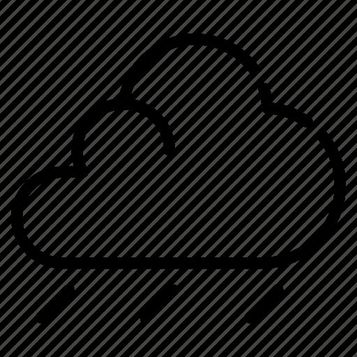 autumn, cloud, fall, forecast, overcast, rain icon