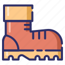 autumn, footwear, boots, shoes icon