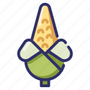 agriculture, autumn, corn, farm, harvest, season, vegetable icon