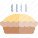 autumn, fall, nature, pie, season, weather icon