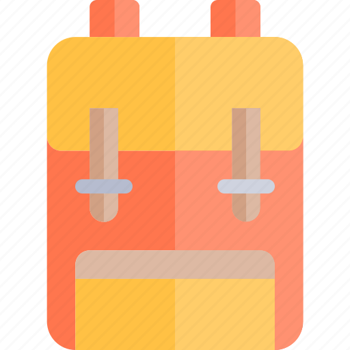 autumn, backpack, fall, nature, season, weather icon