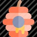 autumn, fall, hive, nature, season, weather icon