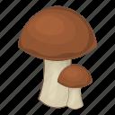 fungi, fungus, mushroom, nature icon