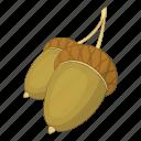 acorn, ecology, nature, tree icon