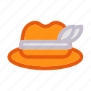 autumn, fall, hat, holiday, thanksgiving icon