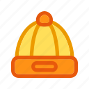 autumn, autumn hat, cold hat, fall, warm hat, winter hat icon