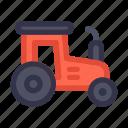 agriculture, autumn, fall, farm, farming, harvest, tractor icon