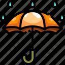 rain, rainy, umbrella, weather