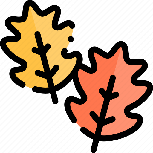 autumn, fall, leaves, season, weather icon