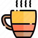 autumn, drink, fall, hot, nature, season, weather icon