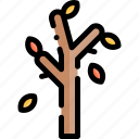 autumn, fall, nature, season, tree, weather icon