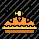 baker, cake, dessert, food, pie, pumpkin, sweet