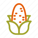autumn, corn, fall, food, harvest, meal, vegetable icon