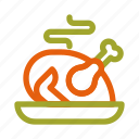 autumn, chicken, fall, food, roast, thanksgiving, turkey icon