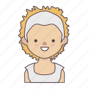 cartoon character, character, character set, girl, stroke character, woman icon
