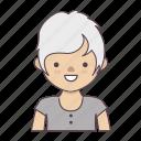 avatar, cartoon character, character, character set, man, stroke character, woman icon