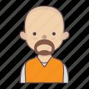 cartoon character, character, character set, engineer, man, stroke character icon
