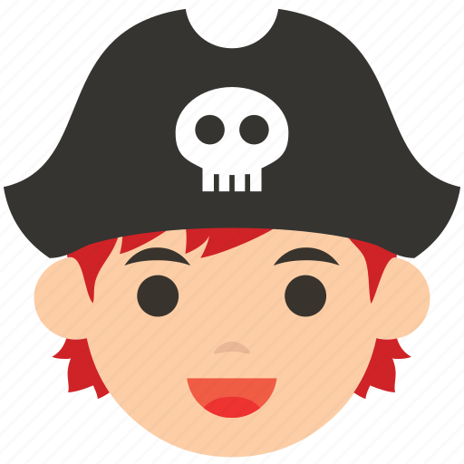 avatar, character, face, man, pirate, profile, user icon