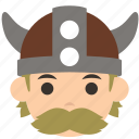 avatar, character, man, profile, user, viking, warrior