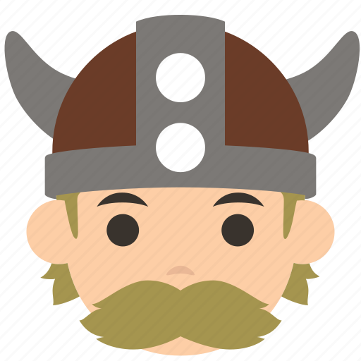 avatar, character, man, profile, user, viking, warrior icon