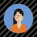 avatar, student, woman