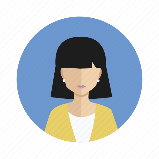 avatar, student, user, woman icon