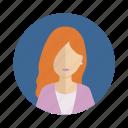 avatar, leader, user, woman