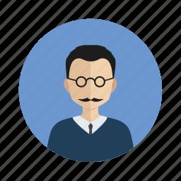 avatar, handsome, man, user icon