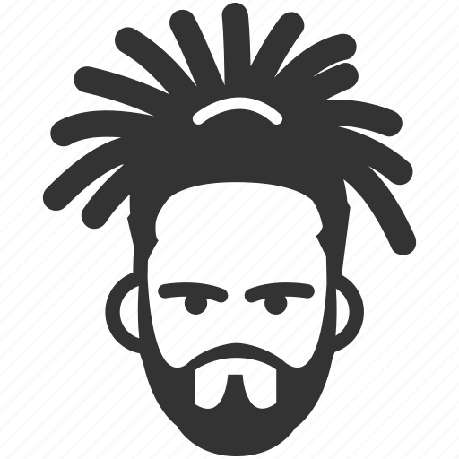 avatar, caribbean, dreadlock, face, reggae, ska, south american icon
