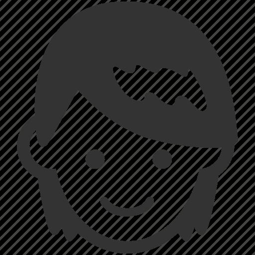 avatar, boy, face, hair, male, man, smooth icon