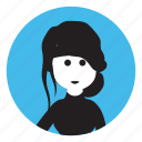 avatar, girl, people avatar, people icon, person icon