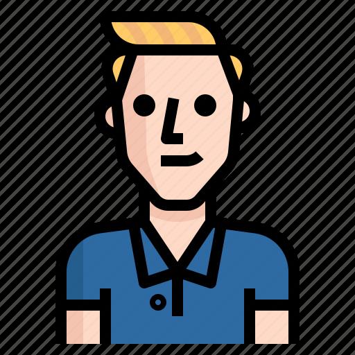 avatar, boy, guy, handsome, man, metro, short icon
