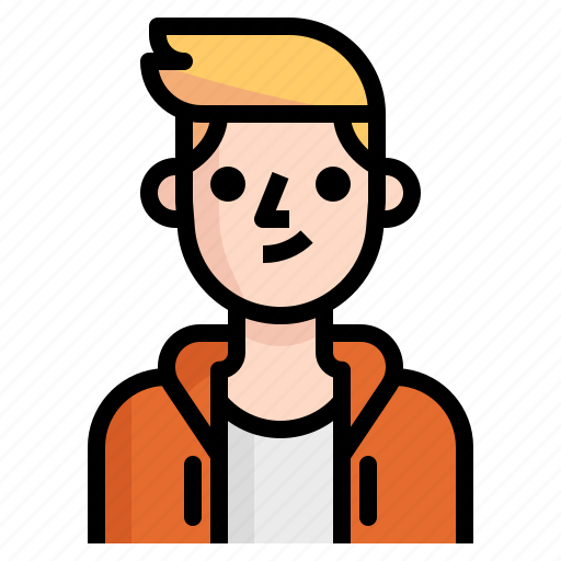 avatar, boy, guy, hood, man, metro, undercut icon