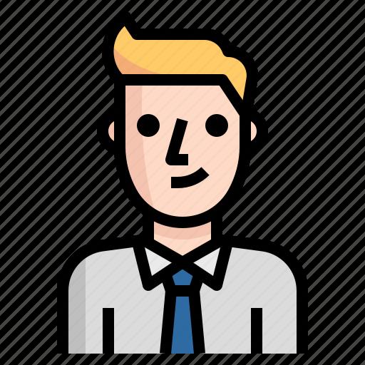 avatar, business, guy, handsome, man, metro icon