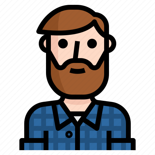 avatar, beard, guy, handsome, hipster, man, scotch icon
