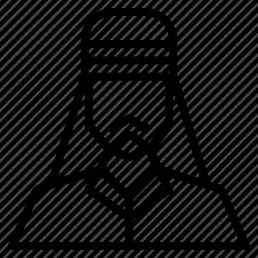 arab, avatar, male, man, people, user icon