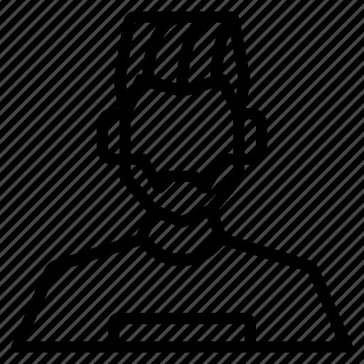 avatar, boy, hipter, male, man, user icon
