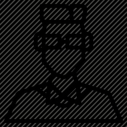 avatar, boy, male, man, nerds, user icon