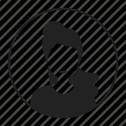 avatar, girl, lady, woman icon