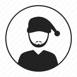 avatar, hat, man icon