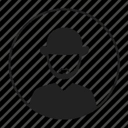 avatar, hat, male, man, people icon