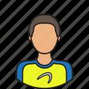 athlete, avatar, sportsman