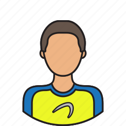 athlete, avatar, sportsman icon