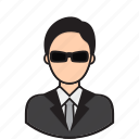 avatar, bodyguard, occupation, protect, security
