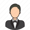 avatar, butler, person, user icon