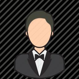 avatar, butler, person, user icon
