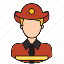 avatar, fighter, fire, fireman, protection icon