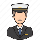 avatar, job, man, pilot icon