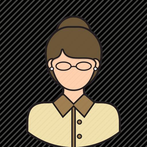 avatar, class, classroom, teacher, teaching icon
