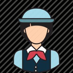 avatar, guide, tour, touring icon